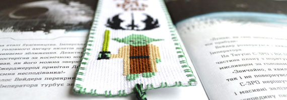 Top 10 Star Wars Cross Stitch patterns
